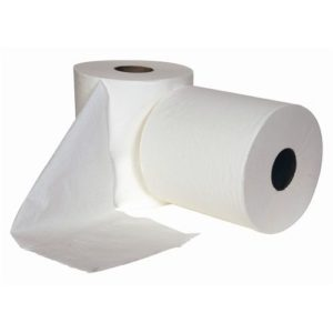 Centrefeed Roll 150m White 2 Ply (6 per case)
