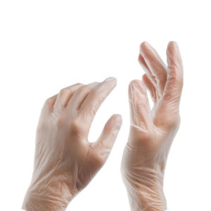 Non Sterile Powder Free Vinyl Disposable Gloves